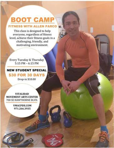 Fitness Bootcamp classes in Portland Oregon, Group Fitness classes in Portland Oregon, Certified Personal Trainer,
